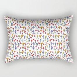 Poisoned mashrooms Rectangular Pillow