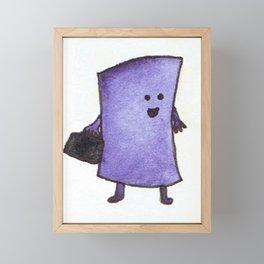 Pure Enthusiasm Framed Mini Art Print