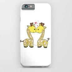 Giraffes in Love iPhone 6s Slim Case