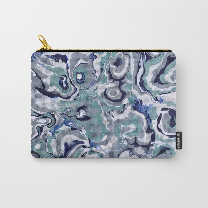 Oysters abstract Carry-All Pouch