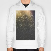sparkle Hoodies featuring Sparkle by Jane Lacey Smith