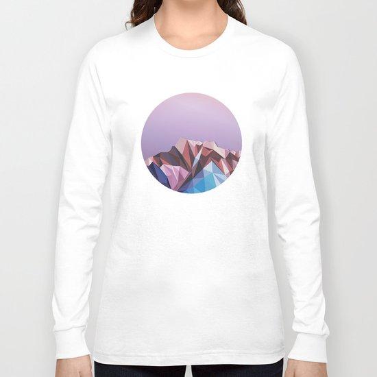 Night Mountains No. 41 Long Sleeve T-shirt