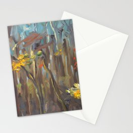 Autumn Trees II Stationery Cards