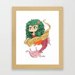UNDERWATERS Framed Art Print