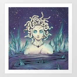 Tears of Poseidon Art Print