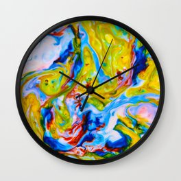 Milkblot No. 6 Wall Clock