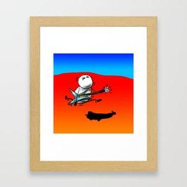 Axe-Man by Jon Warren Framed Art Print