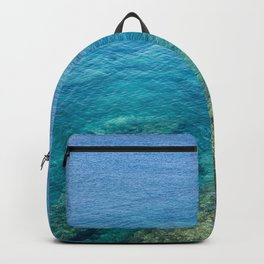 Lanzarote clear sea Backpack