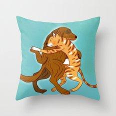 dancing Throw Pillow
