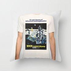 2001 Throw Pillow