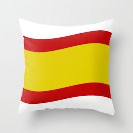 spain flag Throw Pillow