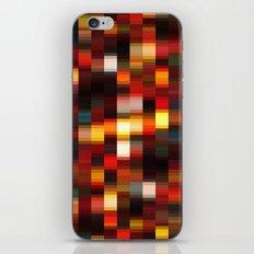 Colour Blocks iPhone & iPod Skin