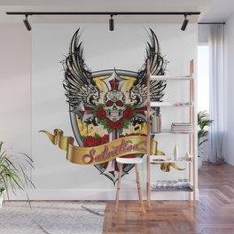 ART IS SALVATION Wall Mural