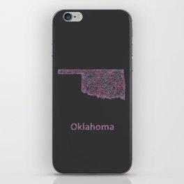 Oklahoma iPhone Skin