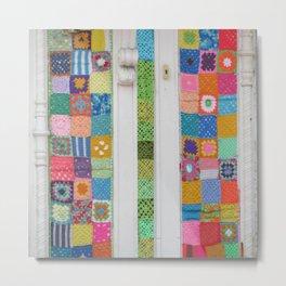 Crochet Splendour Metal Print