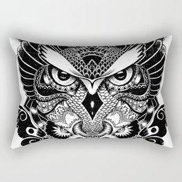 Owl and Dragon Rectangular Pillow