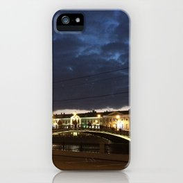 Night Moscow iPhone Case