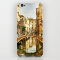 On a Venetian Canal iPhone Skin