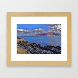 Rocky Atlantic Shore Framed Art Print