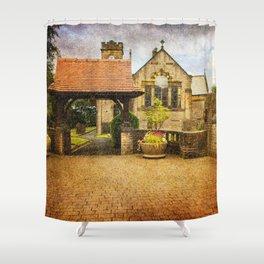 St Anne's Church, Lydgate  Shower Curtain