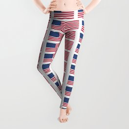 american flag 2-Usa,america,us,stars and strips, patriotic,patriot,united states,american,spangled Leggings