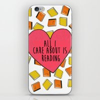 reading iPhone & iPod Skins featuring reading by Synne Vestvik