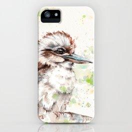 A Kookaburras Gaze iPhone Case