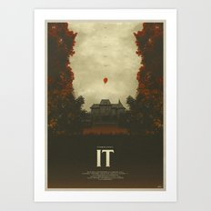 We All Float - It Art Print