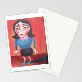 Chica de ojos lindos por Diego Manuel Stationery Cards
