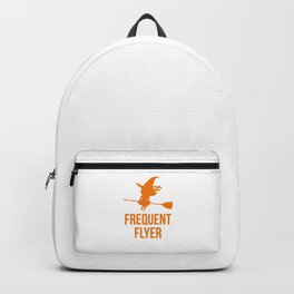Frequent Flyer Halloween Flying Witch Backpack