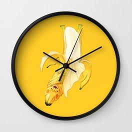 Bb - Batata // Half Bat, Half Banana Wall Clock