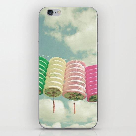 Chinese Lanterns iPhone Skin