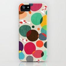 Lotus in koi pond iPhone (5, 5s) Slim Case