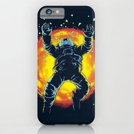 Space Accident iPhone Case