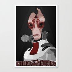 spectr.es: Mordin Solus Canvas Print