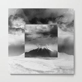Square - Mountain Metal Print