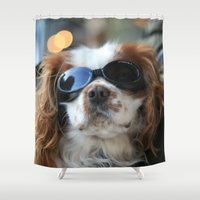 backpack Shower Curtains featuring celebrity by EnglishRose23