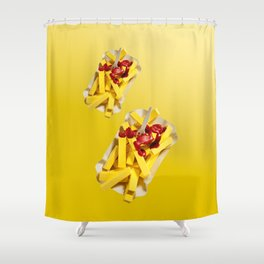 Frietjes Shower Curtain