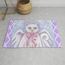 The Angel Cat Rug
