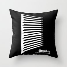 Disturbia Throw Pillow
