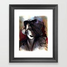 Mystic Iron Framed Art Print