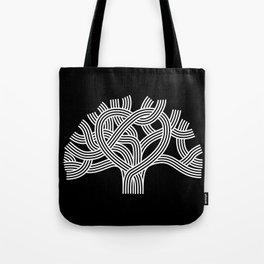 Oakland Love Tree (White) Tote Bag