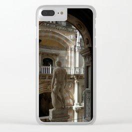 Cultured Buttocks Clear iPhone Case