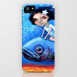 Fishing Girls iPhone Case