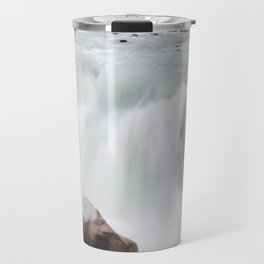 Athabasca falls exposure Travel Mug