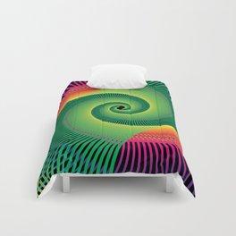 Double Spiral  Comforters