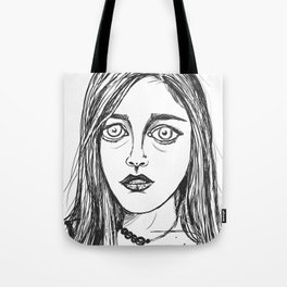 Troubled Mind Tote Bag