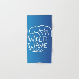 Wild Wave Hand & Bath Towel