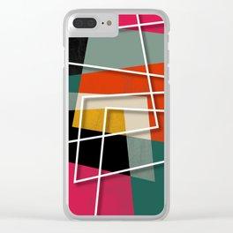 Fill & Stroke III Clear iPhone Case