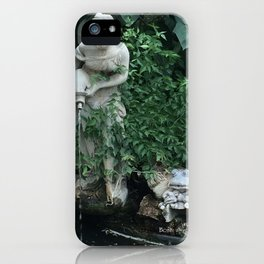 WATER GIRL & TOAD iPhone Case